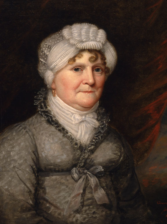 Portrait of Ann Phillips Lovering by Ethan Allen Greenwood