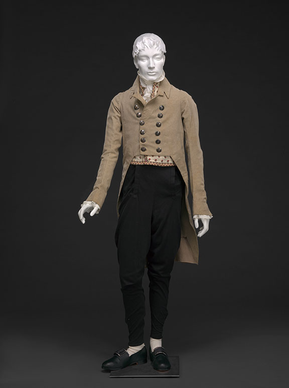 Wool Broadcloth Coat and Pantaloons