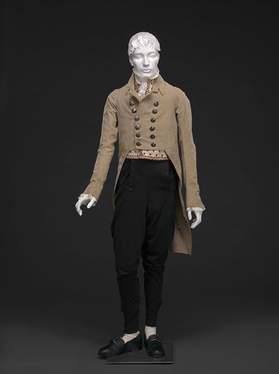 Wool Broadcloth Coat and Pantaloons