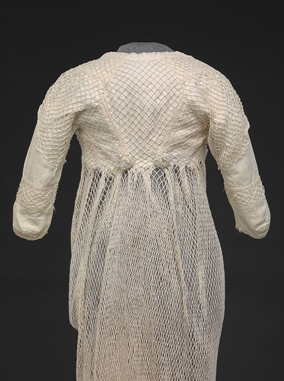 Cotton Netted Overdress